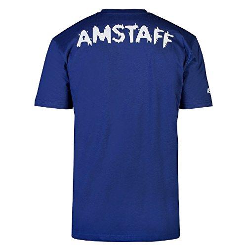 shirt Blau Logo T shirt T Logo Amstaff Amstaff T shirt Amstaff Blau vwfxrHv