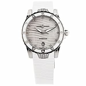 Ulysse Nardin lady diver automatic-self-wind womens Watch 8153-180E-3C/10 (Certified Pre-owned)