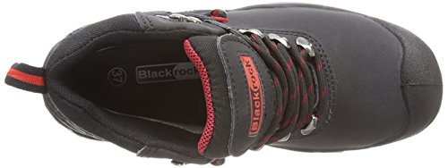Blackrock  SF54 ,  zapatos de seguridad de cuero unisex, negro, 37 EU (4 UK) Negro