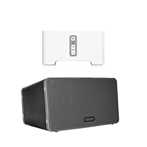 sonos-connect-wireless-receiver-for-streaming-music-bundle-sonos-play3-wireless-speaker-single-black
