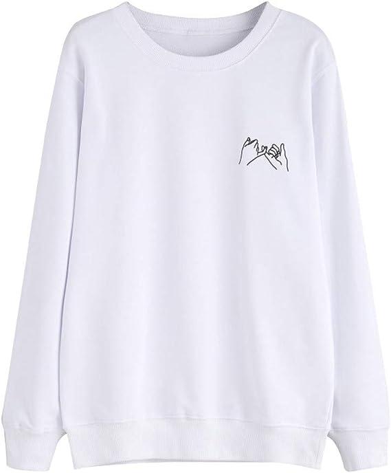 ZEZKT Sweat-Shirts Femme,Sweats à Capuche