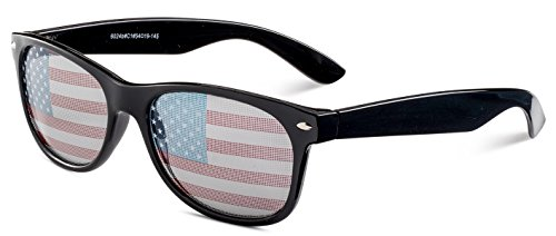 Patriotic Wayfarer Sunglasses - They Sunglasses Are Where