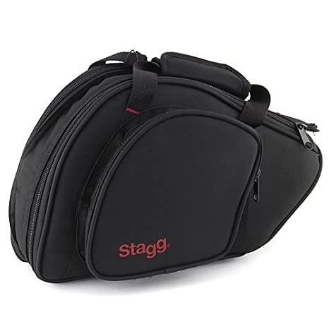 Stagg 25021071 Ws-fs275s Bb Hunting Horn Tasche 100% Guarantee Brass