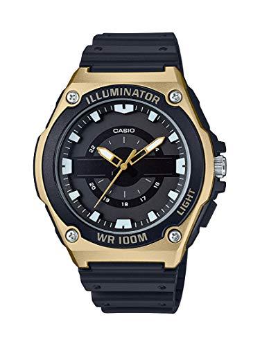Casio Men's Quartz Watch with Resin Strap, Black, 18.5 (Model: MWC-100H-9AVCF) Black Friday Deals 2019