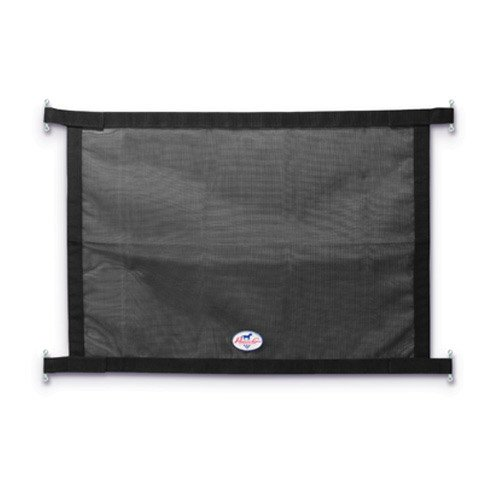 (Professionals Choice 35X26 Equine Trailer Window Screen (Black))