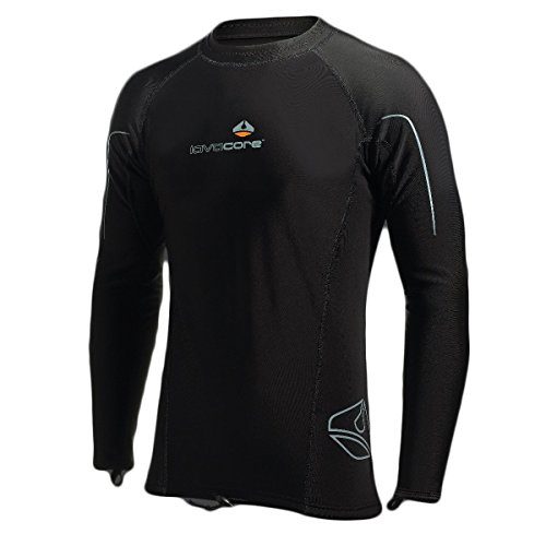 New Men's LavaCore Trilaminate Polytherm Long Sleeve Shirt (Medium-Large) for Extreme Watersports by Lavacore