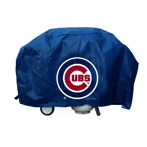 (Rico Industries MLB Chicago Cubs Deluxe 68-inch Grill Cover)