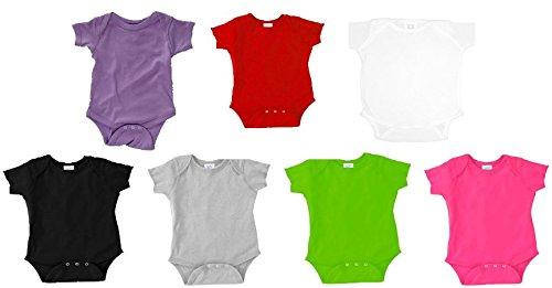 Mega Powers Hulk Hogan Randy Savage WWE Wrestling Bodysuit Infant Toddler Baby (Newborn, Grey) by Squared Circle