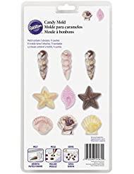 Wilton 2115-1561 Seashell Candy and lollipop Mold