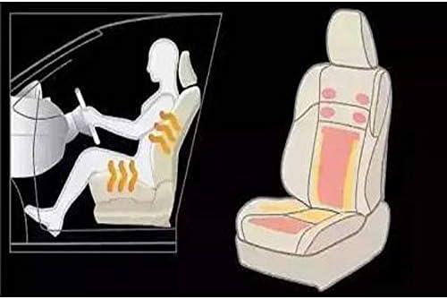 2 Seats WATERCARBON Tech Era Carbon Fiber Seat Heater Kit Hi//Lo Setting
