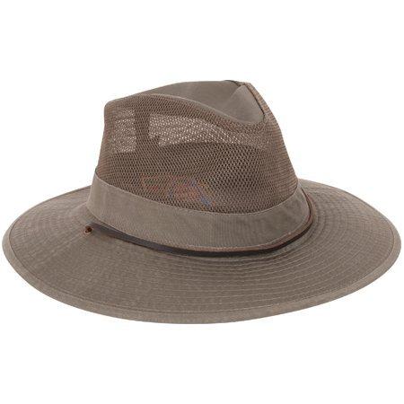 69b02256245 DPC Outdoor Design Men s Washed Twill Mesh Hat