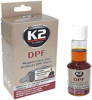 K2 Dieselzusatz Additiv Für Dieselpartikelfilter Einspritzdüsenreiniger Reiniger RuàŸpartikelfilter 50ml Auto