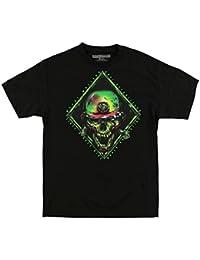 Ravage Mens T-Shirt, Black, Large