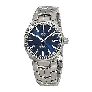 Tag Heuer Link Caliber 5 Reloj automático de diamante para hombre WBC2113.BA0603 1