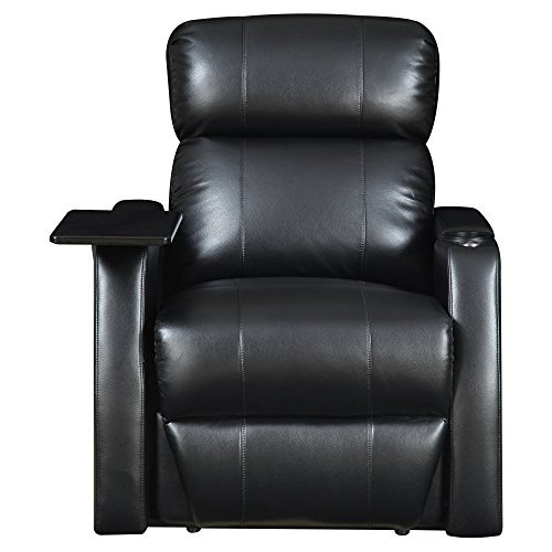 Elements International Cecille Home Theater Power Recliner