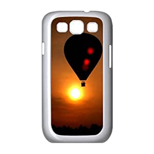 Samsung Galaxy S3 I9300 2D Customized Hard Back Durable Phone Case with Fire Balloon Image