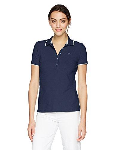 IZOD Women's Slim Fit Golf Polo, Peacoat, XL