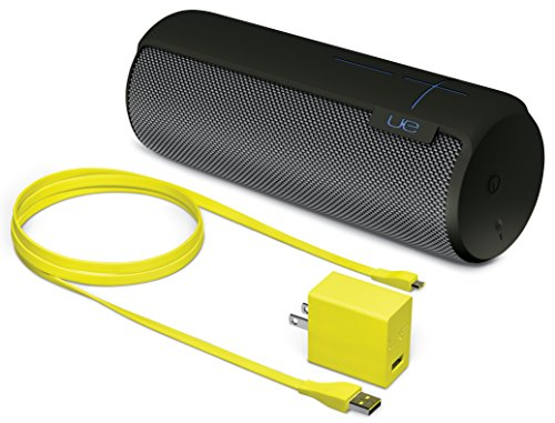 UE MEGABOOM Charcoal Black Wireless Mobile Bluetooth Speaker (Waterproof and Shockproof)