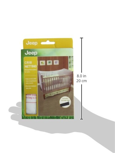 Jeep Crib Universal Size Crib Mosquito Net, White by Jeep (Image #7)