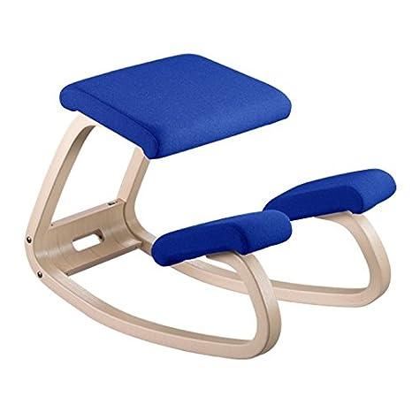 Sedia A Dondolo Basculante.Varier 101013 Sedia A Dondolo Orientabile 51 X 52 Cm Colore Blu