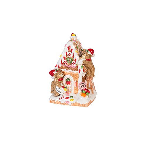 Fitz and Floyd Coleen Christian Burke Reagan White House Christmas Gingerbread Musical, Assorted