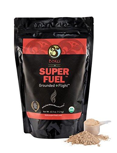 Boku Super Fuel: Organic, Vegan, Kosher, Gluten Free, Soy Free, Natural Energy Powder (42.4 oz) by Boku