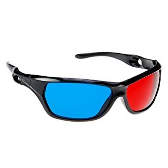 3D Glasses Red Cyan Blue Clip-on 3D Glasses 3 D Dimensional Anagly BuyinCoins