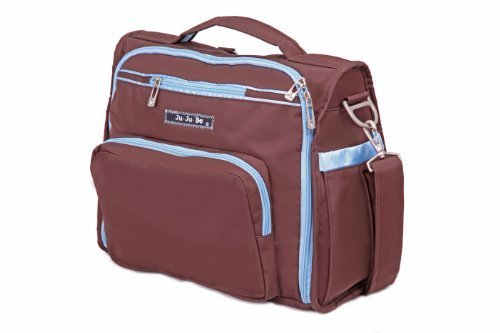 Ju-Ju-Be BFF Messenger Diaper Bag (Brown/ Robin) by Ju-Ju-Be