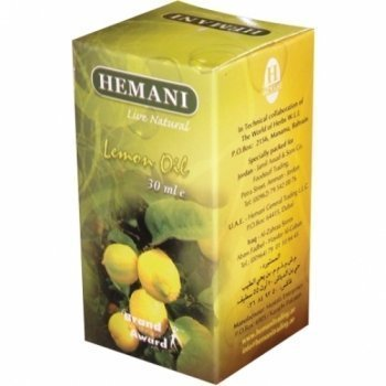 Hemani Lemon 100% Natural Cold Pressed Halal Essential Oil - 30ml