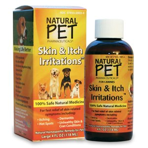 Natural Pet Pharmaceuticals Skin Itch Irritation for Dogs (4 oz)