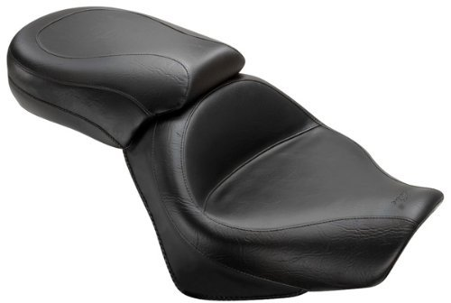 Mustang 2-piece Wide Vintage Touring Seat 76521 - Wide Mustang Seat Stud