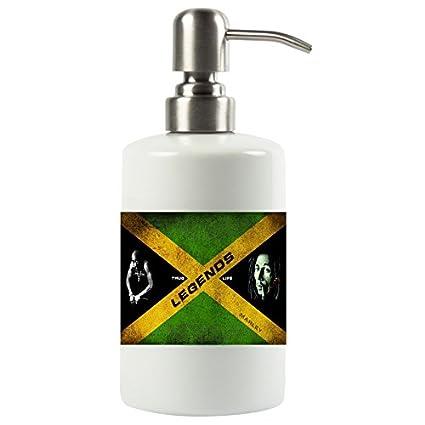 Heavenly 2 Pac Tupac Shakur y Bob Marley Thug Life Marley Música Legends rellenable Bomba de