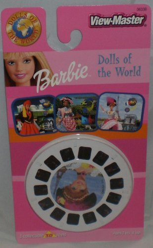 BARBIE Dolls of the World - View-Master 3 Reel Set - 21 3D (Guys And Dolls Costume Images)