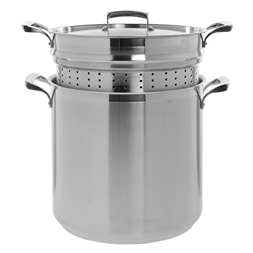 Browne (5724090) 20 qt Stainless Steel Pasta Cooker by Browne Foodservice