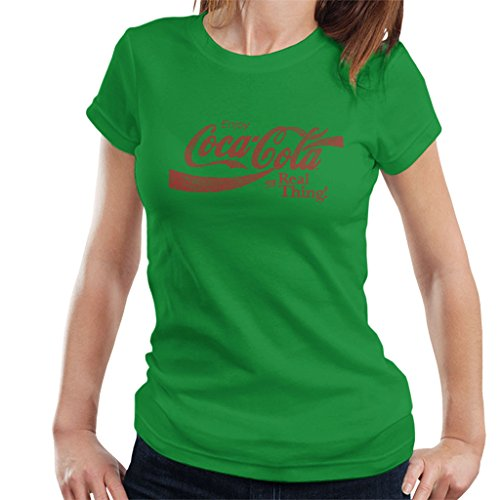 Kelly Shirt Women's Real Thing Coca Cola T Green 5OwYqxXt