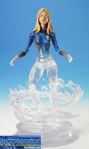Fantastic Four Movie Action Figure Power Blast Invisible Woman by Fantastic 4 by Fantastic 4