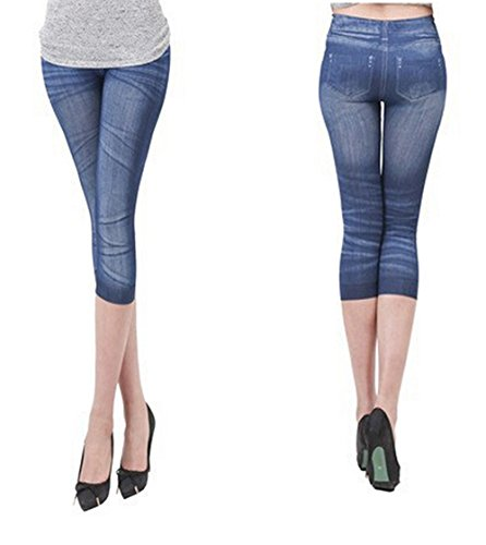 StylesILove Wrinkle Printed Stretch Legging product image