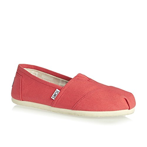 Canvas Estar Mujer Seasonal por Red Classics para Zapatillas Alpargata TOMS de Casa SBqgwBd