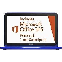 Dell Inspiron 11.6 Laptop Intel Celeron 2GB Ram 32GB eMMC Flash Memory Bali Blue I3162-0000BLU