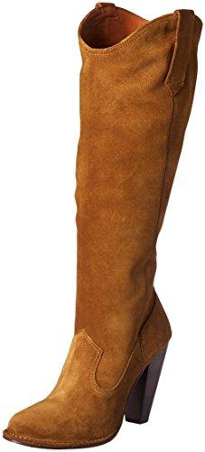 FRYE Women's Madeline Tall Western Boot, Khaki, 11 M US