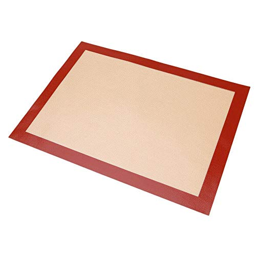 Silicone Baking Mats - BPA Free Non Stick Silicone Baking Mats Sheet, Perfect Bakeware for Making Cookies, Bread and Pastry, Reusable, Non-Toxic