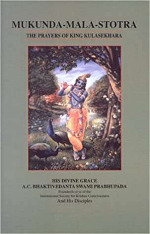 Buy Mukunda-Mala-Stotra: Prayers of King Kulasekhara Book