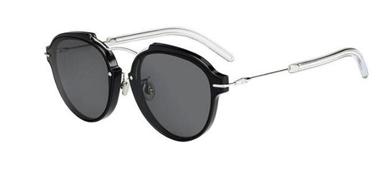 85a2b6ce21701 Amazon.com  New Chrisitian Dior Eclat S RMG P9 Black Palladium Grey  Sunglasses  Clothing