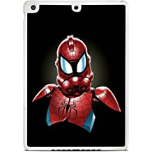Spiderman StormTrooper Art White iPad Air Silicone Case by MWCustoms
