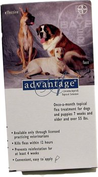 Advantage Flea Control for Dogs (Four Dose (4-applications)), My Pet Supplies