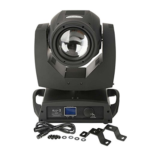 TC-Home 7R 230W 16CH Moving Head Beam Wash Spot Light DJ Disco Club Party Wedding Stage Effect Lighting (Wash Lighting Effect)