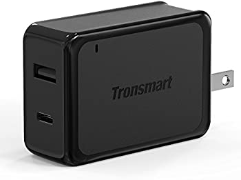 Tronsmart 27W Dual USB Type C Wall Charger