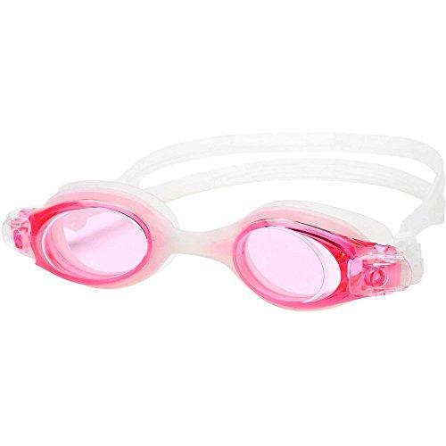 Leader Tradewind Swim Goggles-Pink/Pink