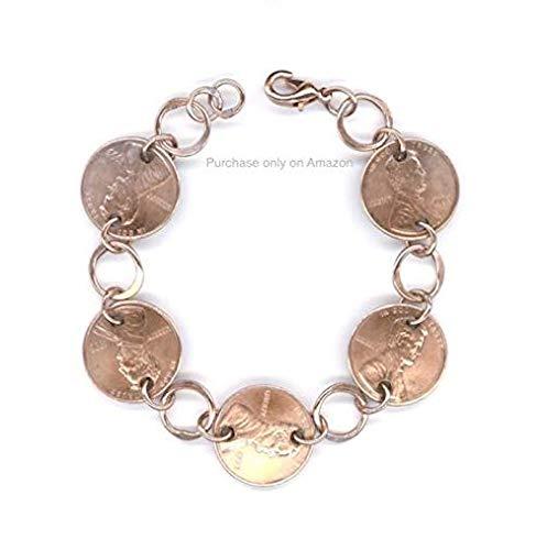 Amazon 1994 Penny Bracelet Handmade Jewelry 25th Birthday Gift