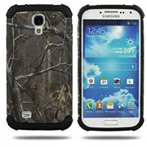 Multicolor Branch Pattern Protective Case For Samsung GALAXY S4 I9500 --- Color:Dark Blue